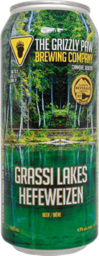 Grassi Lakes Hefeweizen - Can