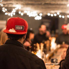 Beer & Cheese Event Photo