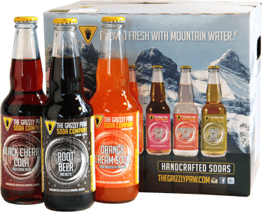 Sodas Handcrafted In The Bow Valley The Grizzly Paw Brewing Co